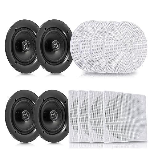 Ceiling Speakers Square Amazon Com