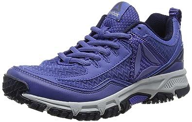 Reebok Damen Ridgerider Trail 2.0 Traillaufschuhe, Blau (Lilac Shadow/Collegiate Navy/Cloud Grey/Pewter/Black), 38.5 EU