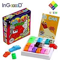 Traffic Jam Logic Toys Games - Ingooood Challenging IQ Car Parking Puzzle Game Model Maze Parking Lot Smart Brain Rush Hour Toys Brain Games Adults Kid
