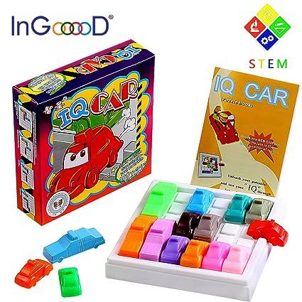 amazon com traffic jam logic toys games ingooood challenging iq