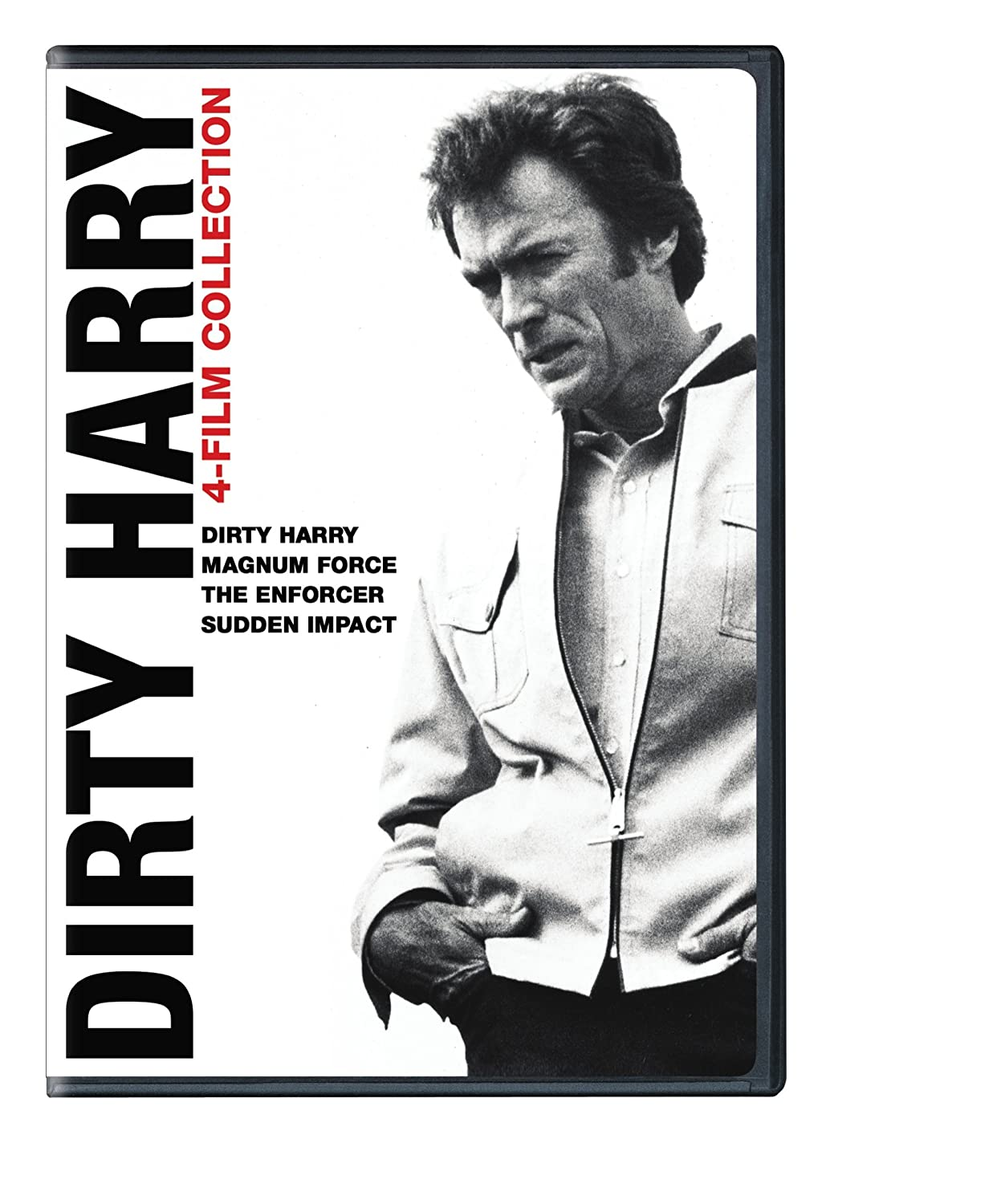 Amazon Com 4 Film Favorites Dirty Harry Dirty Harry Deluxe Edition The Enforcer Deluxe Edition Magnum Force Deluxe Edition Sudden Impact Deluxe