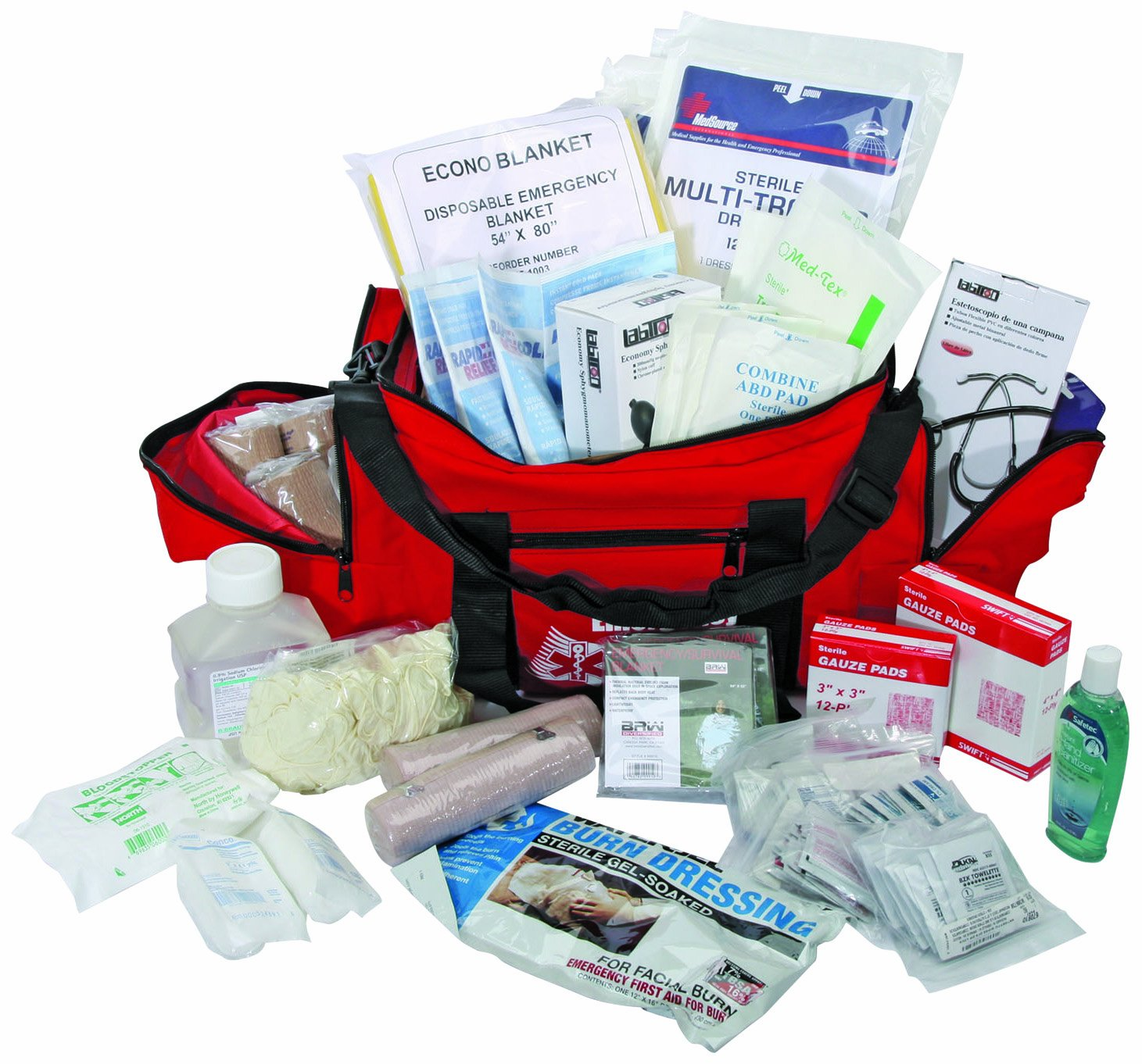 North by Honeywell 148820 Major Trauma Kit by Honeywell