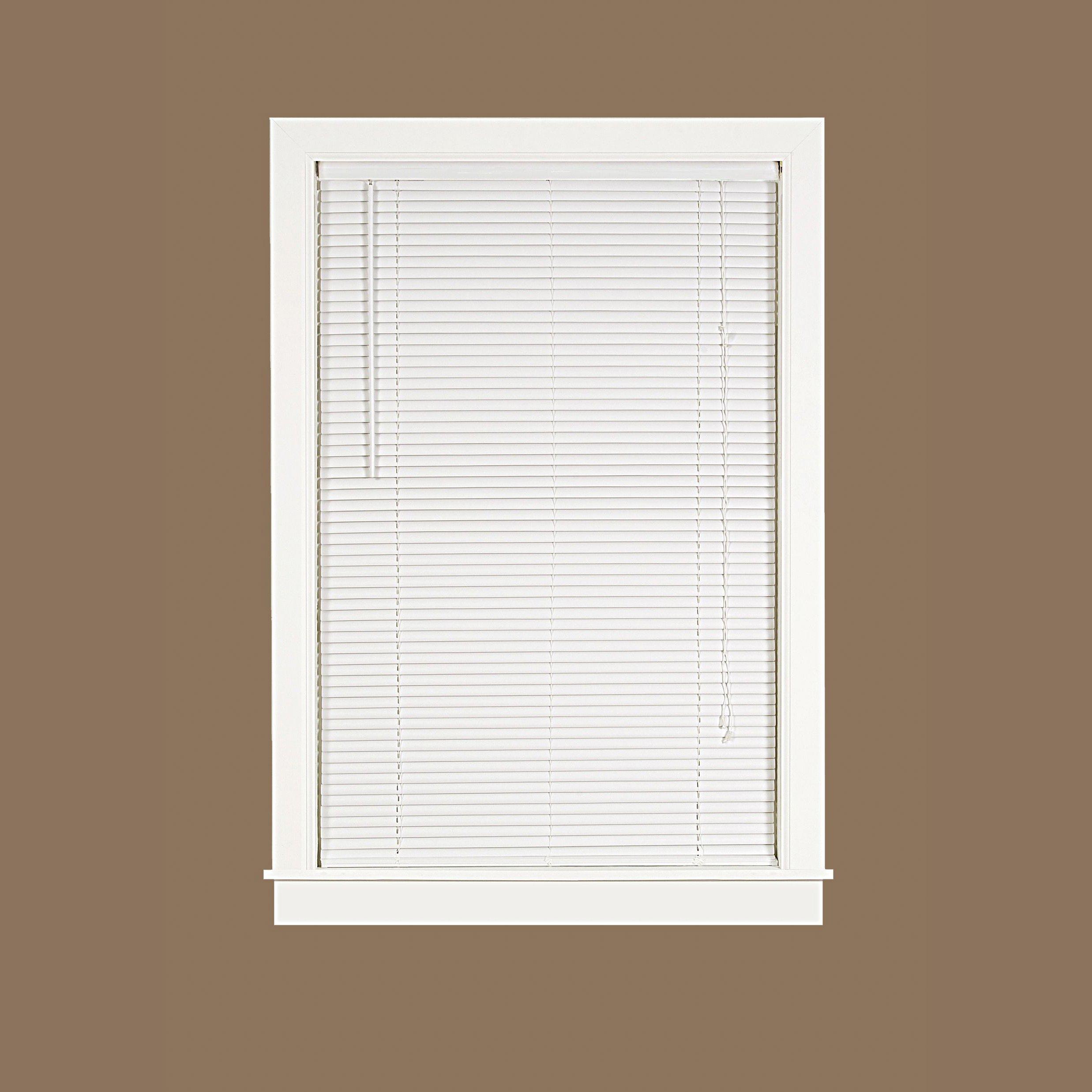 Ben & Jonah Ben&Jonah Deluxe Sundown 1'' Room Darkening Mini Blind 23x64-White Collection, Multi by Ben & Jonah