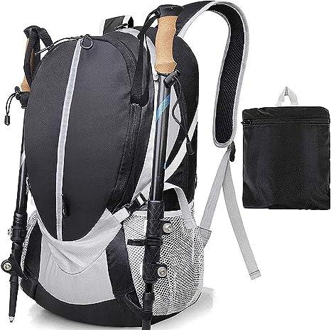 Songwin 35L Ultra Ligera Mochila Plegable de Senderismo Excursión Deportes al Aire Libre/Bolsa de Viaje, Nylon Impermeable,para Viaje Acampar Escalada ...