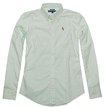 d461c812f9 RALPH LAUREN Women's Slim Fit Oxford Button Down Shirt