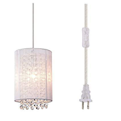 LaLuLa Pendant Lighting Plug-in Pendant Light Mini Hanging Light ...