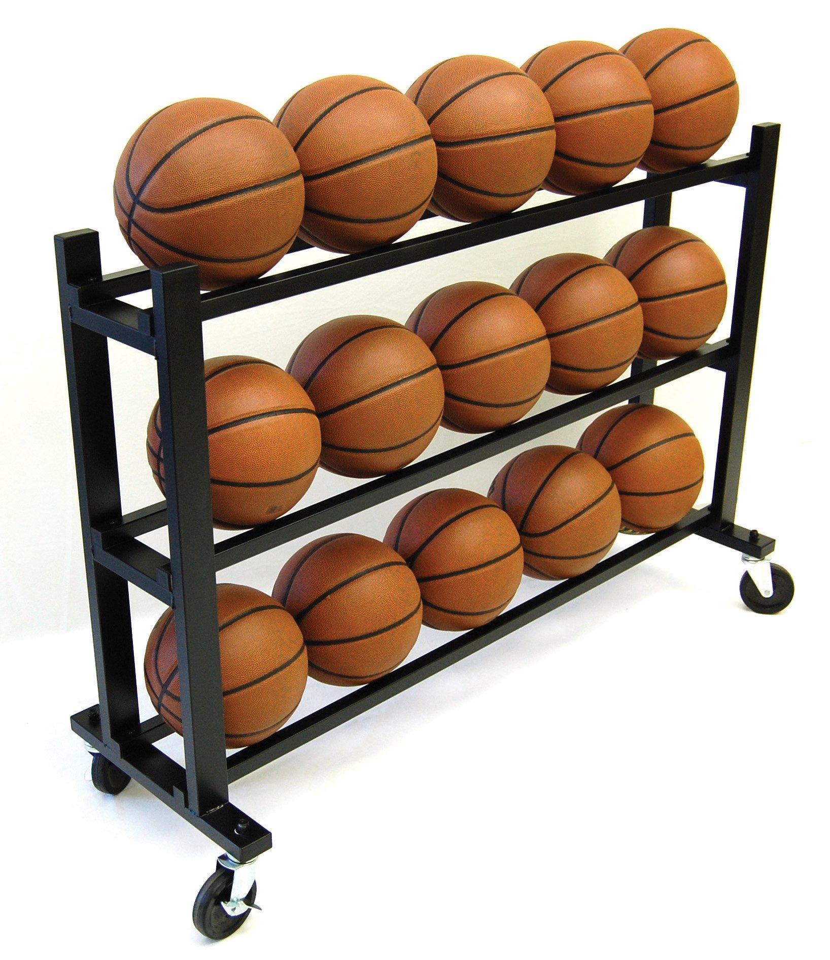 Trigon Sports Procage 3-Tier 15-Ball Hd Ball Cart