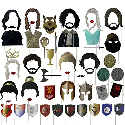 Amazoncom Musykrafties Got Party Game Thrones Inspired Photo Booth