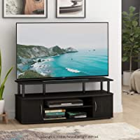 Furinno Jaya Large Entertainment Stand for TV Up to 50 Inch, (2 Pack (Blackwood))