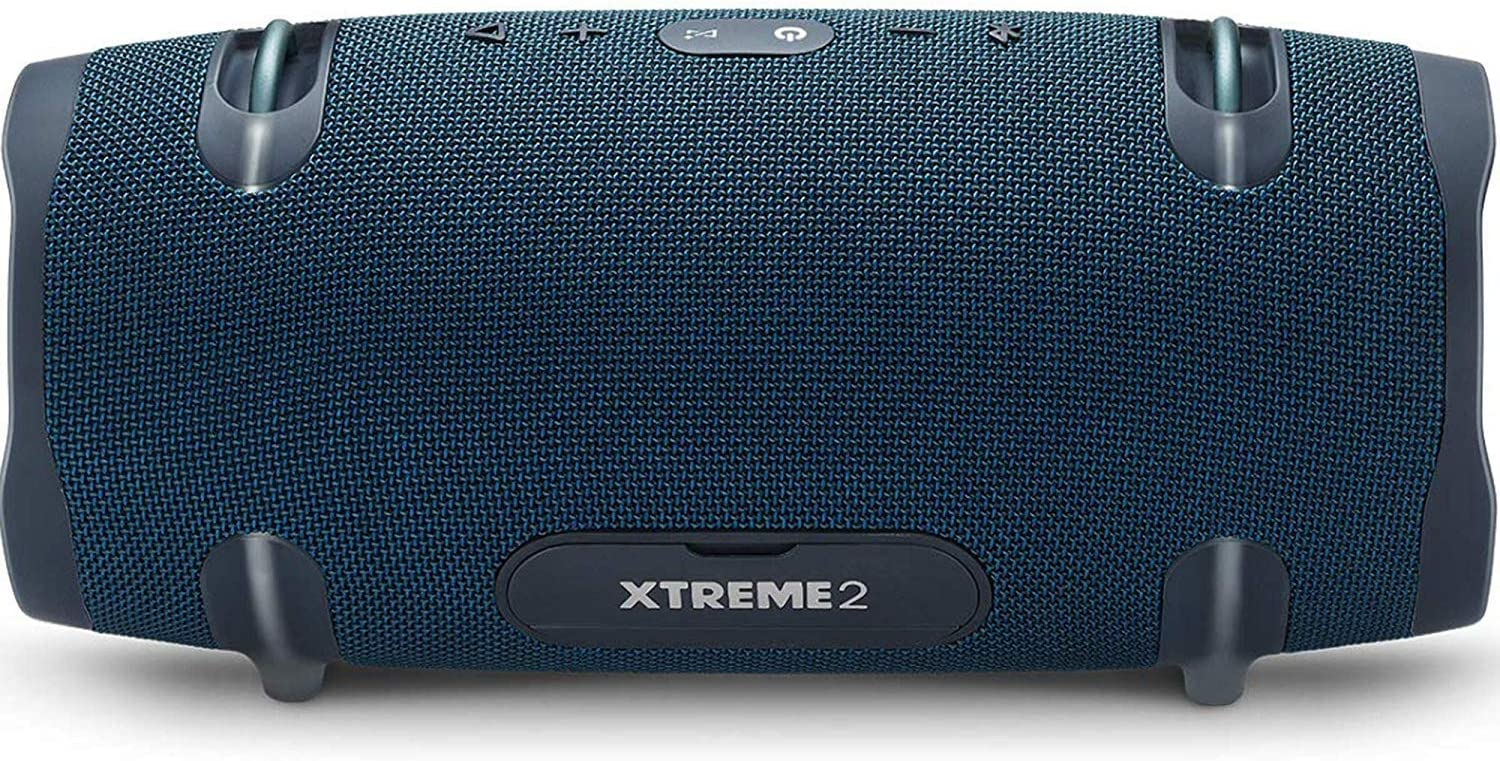 Pair JBL Xtreme 2 Portable Wireless Bluetooth Speakers Blue