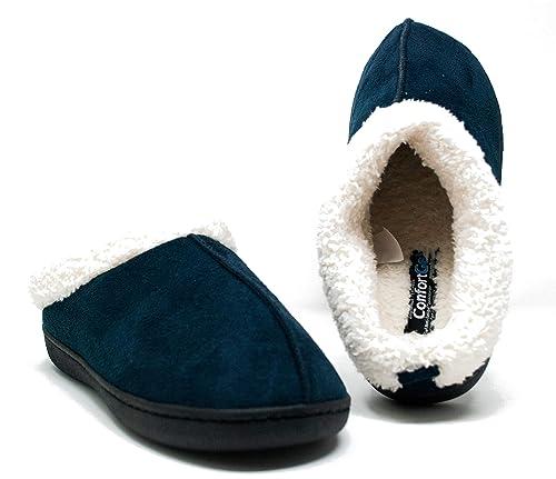 Zapatillas para Andar por casa Confort Gel Premium, con Gel y Relax. Unisex,