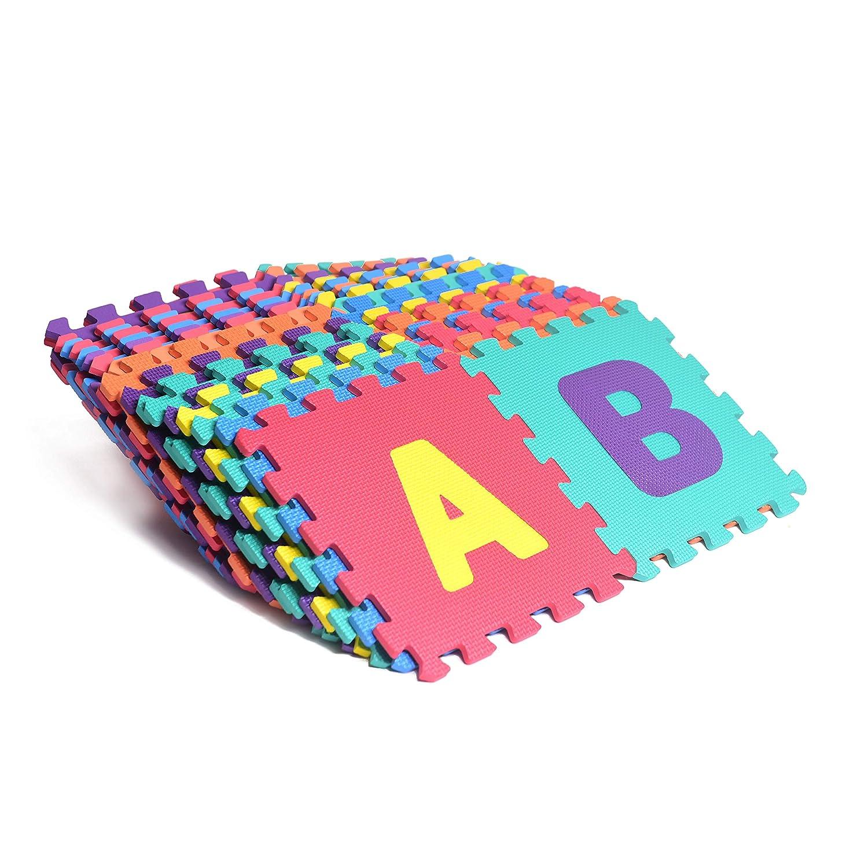 Alphabet Amp Numbers Rubber Eva Foam Puzzle Play Mat Floor