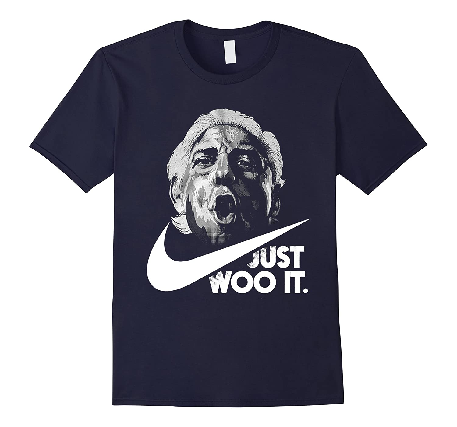 Just Woo It Funny Graphic T-Shirt-T-Shirt