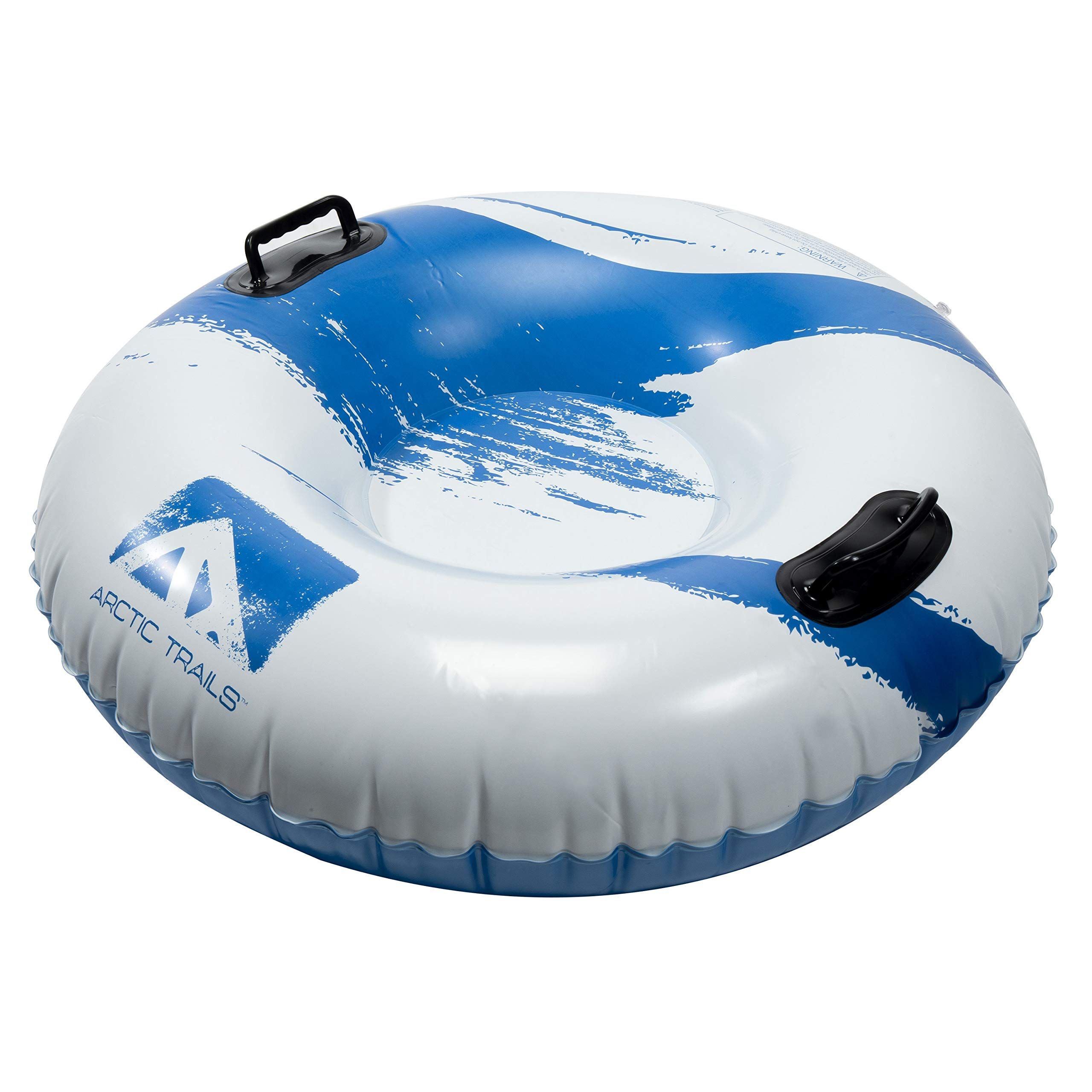 Franklin Sports Arctic Trails Inflatable Snow Sled – Snow Tube – Snow Rider – Snow Racer –Lightweight Sled – Freeze-Resistant