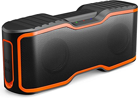 Amazon.com: AOMAIS Sport II Portable Wireless Bluetooth Speakers 20W Bass Sound, 15H Playtime, Waterproof IPX7, Stereo Pairing, Durable Design Backyard, Outdoors, Travel, Pool, Home Party Orange: Electronics