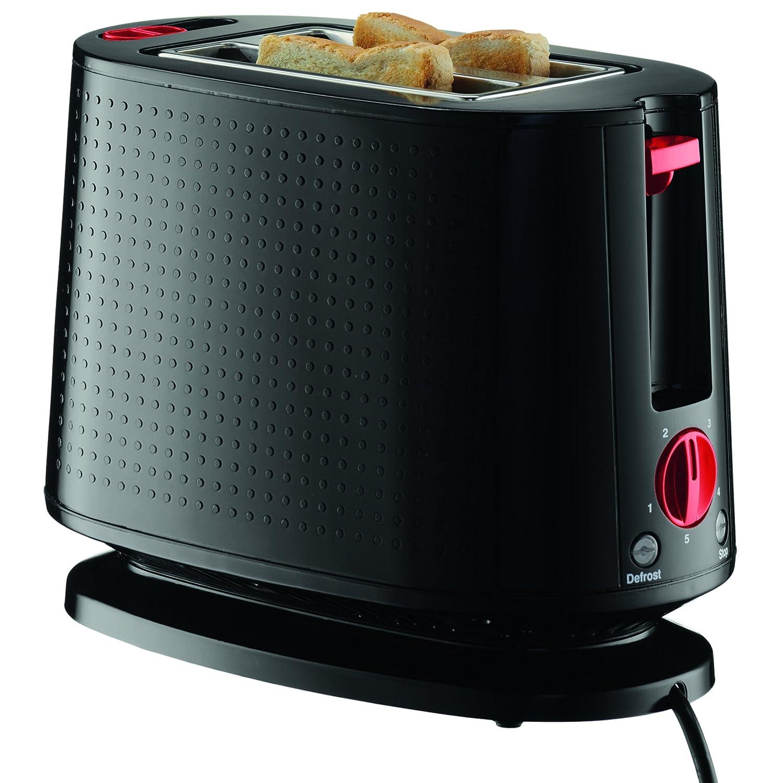 Bodum 10709-01US-3 Bistro Toaster, Black