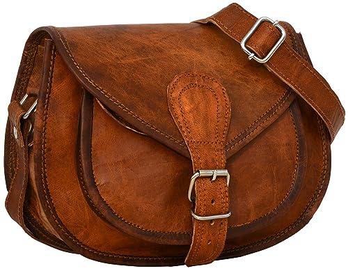 47c24de2c6 Gusti Leder nature  quot Romy quot  Genuine Leather Handbag Cross Body  Shoulder Bag Everyday Satchel