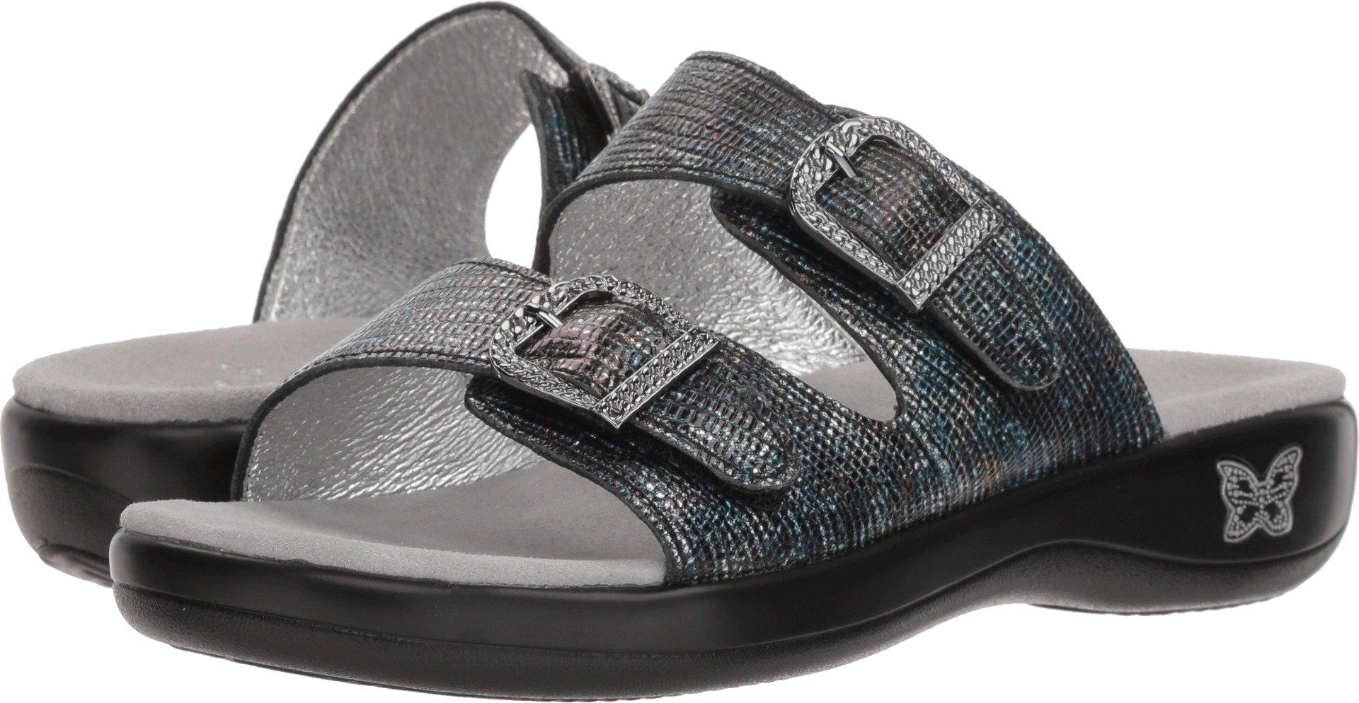 Alegria Womens Jade Sandal, Glimmer Glam, Size 41 EU (10.5-11 M US Women)