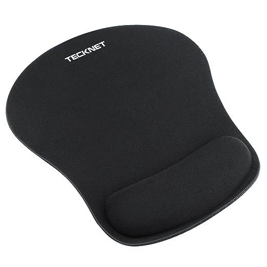 205 opinioni per TeckNet Mouse Pad con Gel Rest, Tappetini per il Mouse – Base in Gomma