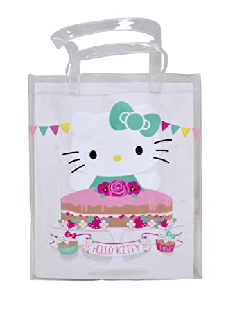 2d686ba89ff Image Unavailable. Image not available for. Color  Hello Kitty Tea Party  Swim Tote Bag
