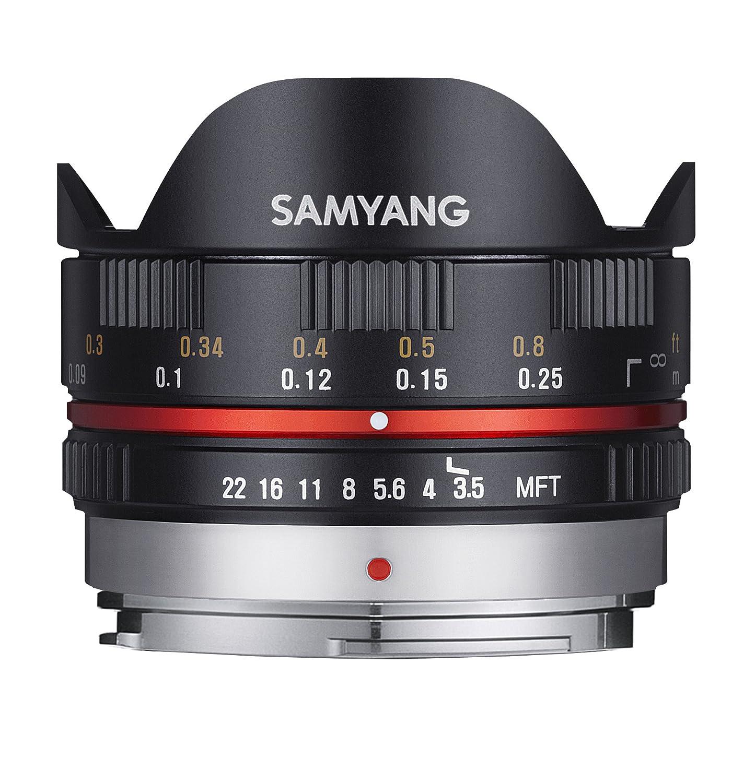 Samyang  F  UMC FISH EYE MFT Objetivo fotográfico para Micro