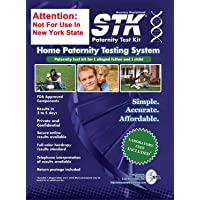 STK's Paternity Test Kit - Includes All LAB FEES and Free Return Mailer for 99.999% Accurate 2-Person Testing