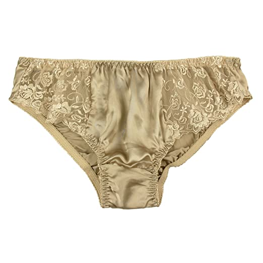 fb7be5d5c Paradise Silk Pure Silk Lace Panties at Amazon Women s Clothing store