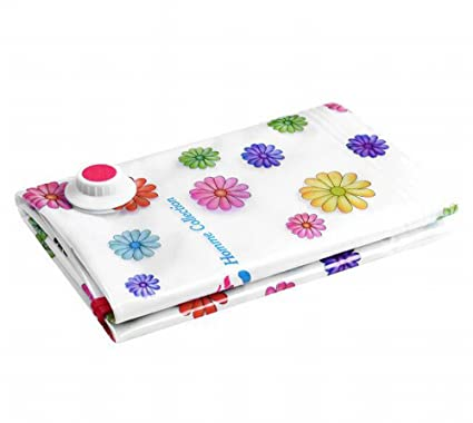 roseamor diseño de flores paquetes de bolsas de ahorro de espacio de almacenamiento al vacío de