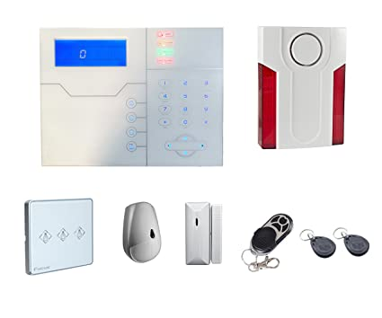 Kit de alarma sin hilo PSTN/GSM/tcp-ip + 1telecomando + 1magnete. Pasa el ratón por ...