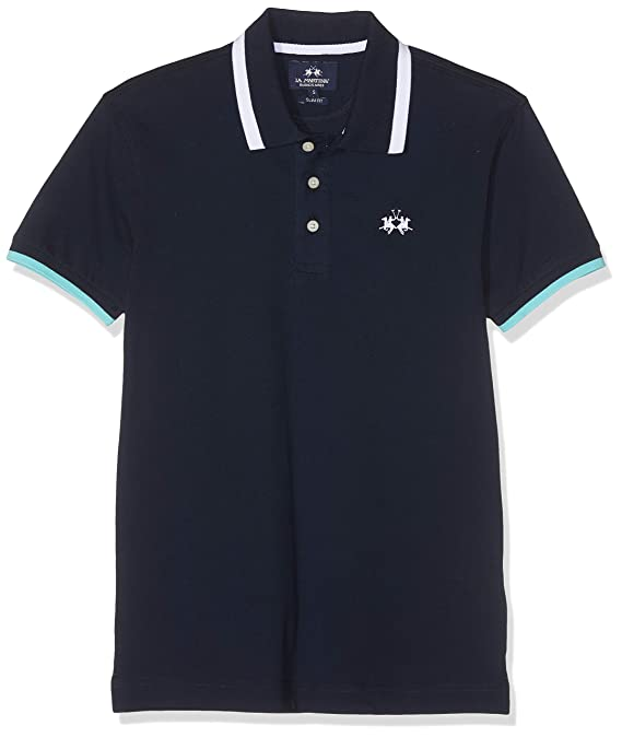 La Martina Man Polo S/S Piquet Stretch Hombre: Amazon.es: Ropa y ...