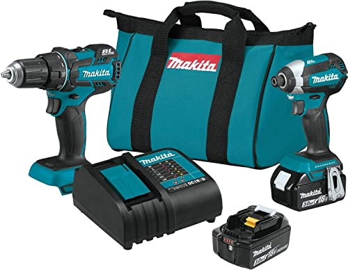 Makita XT279S 18V LXT Lithium-Ion Brushless Cordless 2-Pc. Combo Kit 3.0Ah