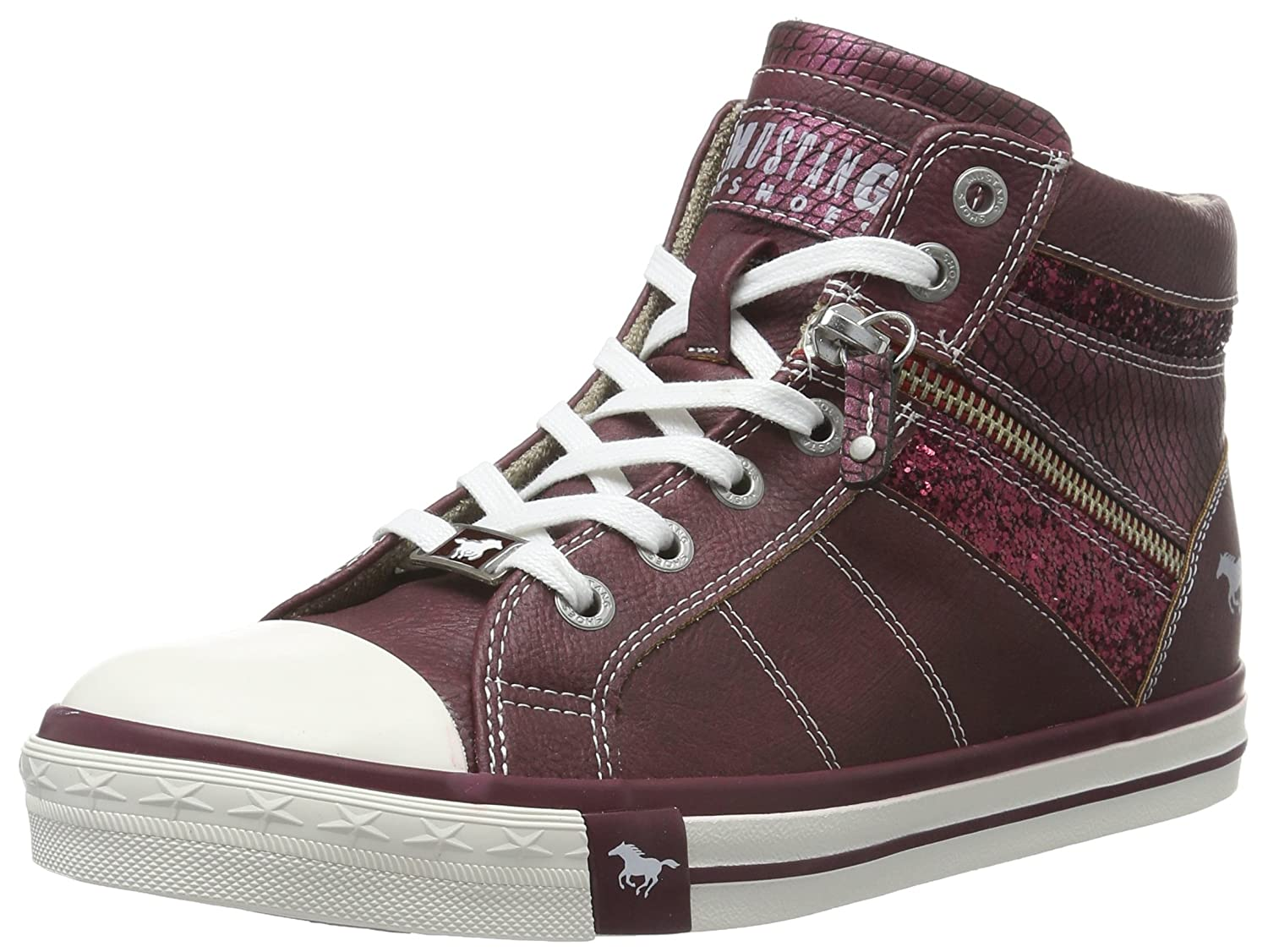 Mustang Damen 1146-508-259 High-Top, Grau (259 Graphit), 37 EU