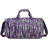 bc956f637c AOKE Small Carryon Overnight Travel Bag Duffle Bag Gym Bag Tote Bag  Weekender Bag Cabin…