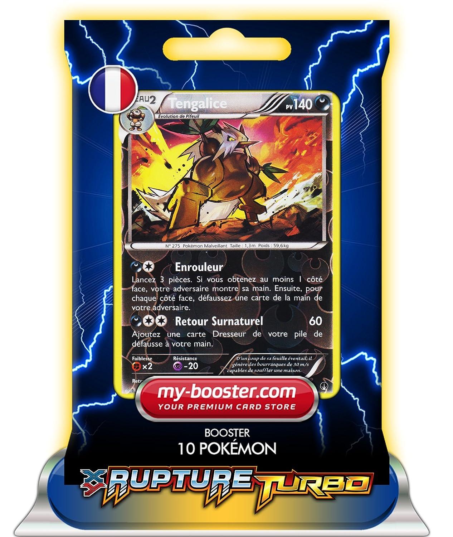 tengalice Holo Reverse 73/122 140pv xy09 rotura Turbo - Booster de 10 tarjetas Pokemon Francaises my-booster: Amazon.es: Juguetes y juegos