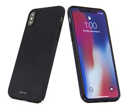 quality design 2db1c 4316a SANDSTONE iPhone X Case with Thin High Friction Non: Amazon.in ...