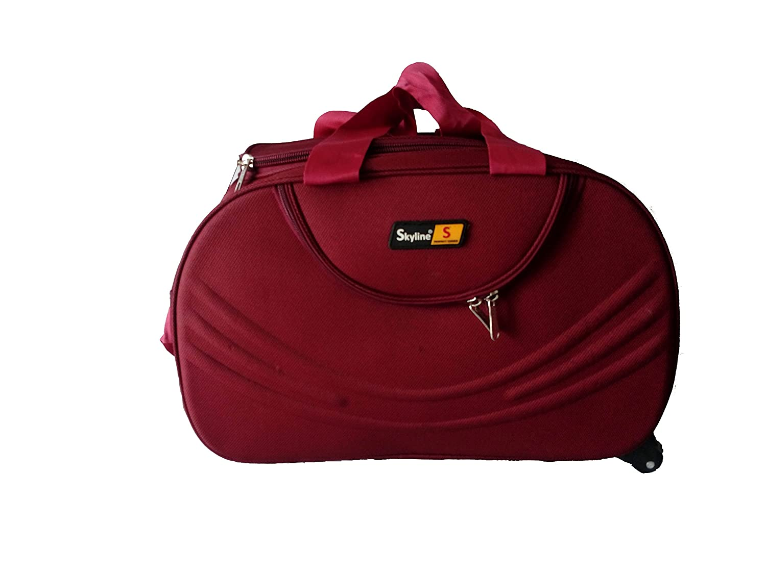 ef0ca3be2f Skyline Polyester 1220 Cms Red Soft Duffle Bag  Amazon.in  Bags ...