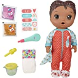 Baby Alive Mix My Medicine Baby Doll, Llama Pajamas, Drinks and Wets, Doctor Accessories, Black Hair Toy for Kids Ages 3 and