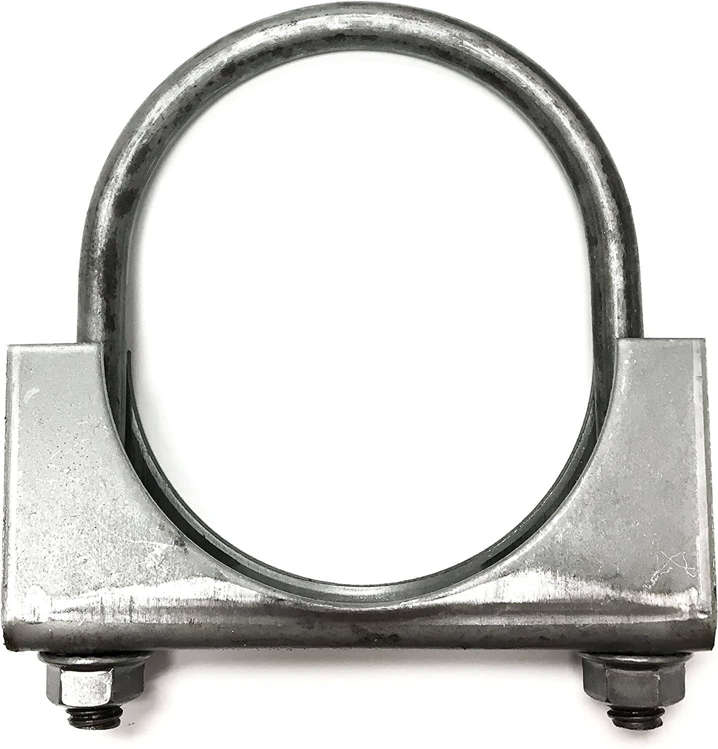"1 1/4"" Heavy Duty Saddle Style U-Bolt Muffler Clamps with Anti-Rust Coat and Multiple Uses (1 1/4"") 81wQCrF9j7L"