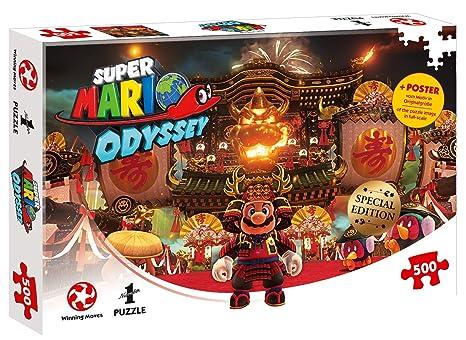 Amazon Com Puzzle Super Mario Odyssey Bowser S Castle 500 Teile