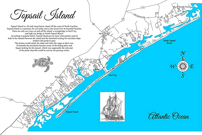 Amazon.com: Topsail Island, North Carolina: Framed Wood Map ... on st. helena nc map, cowee nc map, butters nc map, arapahoe nc map, united states nc map, springfield nc map, boone nc map, myrtle grove nc map, beaufort nc map, cary nc map, northampton nc map, north carolina map, ranlo nc map, new hanover county nc map, alliance nc map, cedar rock nc map, bath nc map, durants neck nc map, wilmington nc map, mt. mitchell nc map,