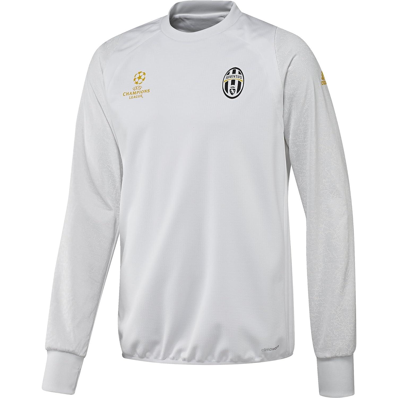 Adidas Juventus EU TRG Top - Sweatshirt für Herren, Farbe Weiß, Größe
