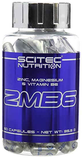 Scitec Nutrition ZMB6, 60 Cápsulas, 35.9 g