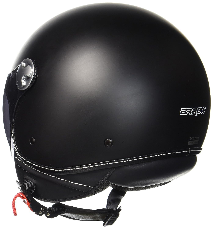 "Armor /· AV-84 /""Vintage Deluxe Creme/"" /· Open Face Helmet /· Motorcycle Scooter Jet Retro Pilot Motorbike /· ECE certified /· Visor /· Click-n-Secure Clip /· Carrier Bag /· XXL 63-64cm yellow"