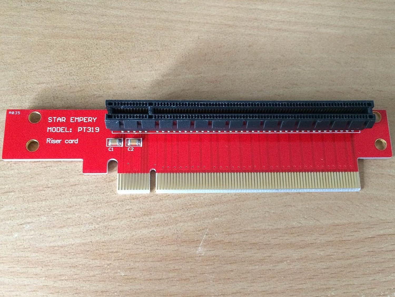 PCI Express 16X Riser Card X16 Left Slot Adapter
