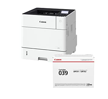 Canon i-SENSYS LBP351x Impresora láser s/w Incl. passendem tóner ...