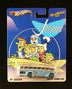 SURFIN' SCHOOL BUS THE JETSONS Hanna-Barbera Presents Hot Wheels 2011 Nostalgia Series 1:64 Scale Die-Cast Vehicle