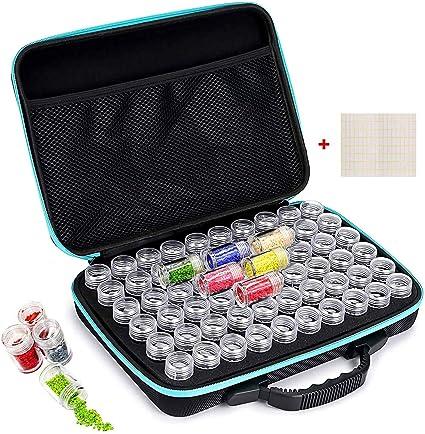 60 Slots Diamond Painting Box Tool Kits Diamond Painting Storage Containers 30