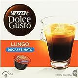 Nescafé Dolce Gusto - Lungo Descafeinado - 3 Paquetes de 16 Cápsulas - Total: 48 Cápsulas