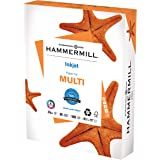 Hammermill Printer Paper, Multipurpose Inkjet Paper 24 lb, 8.5 x 11 - 1 Ream (500 Sheets) - 96 Bright, Made in the USA, 10505