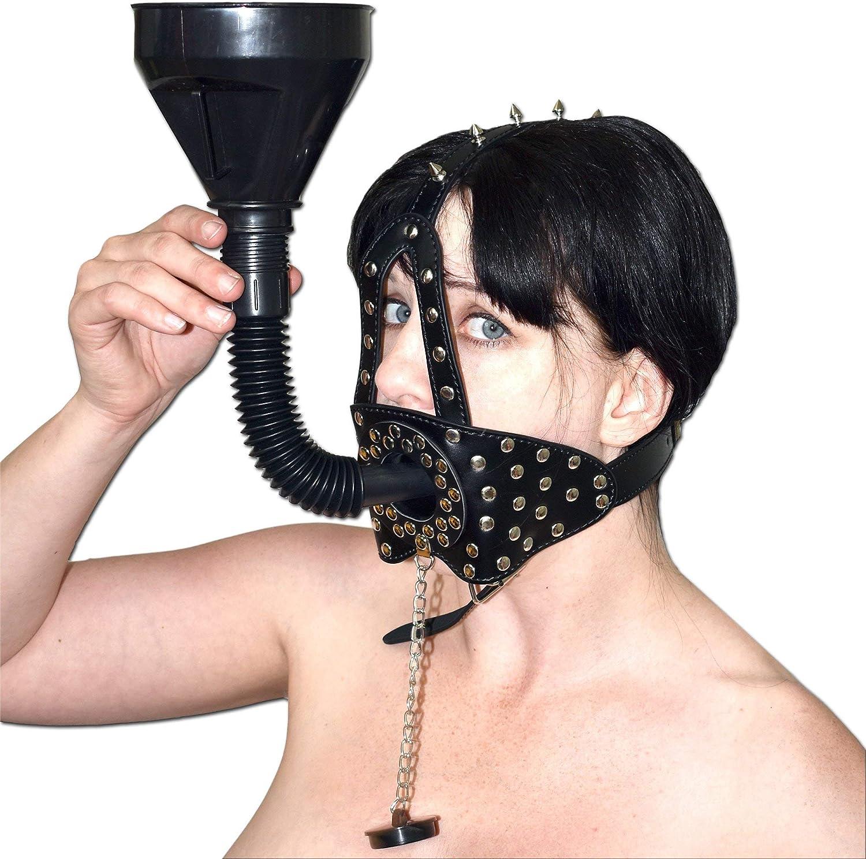Embudo mordaza con remaches, Tapón máscara, Arnés de cabeza ...